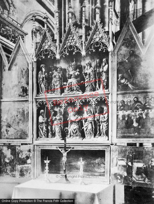 Photo of Nuremburg, The Church Of St Lawrence, Altar, The Twelve Apostles c.1930