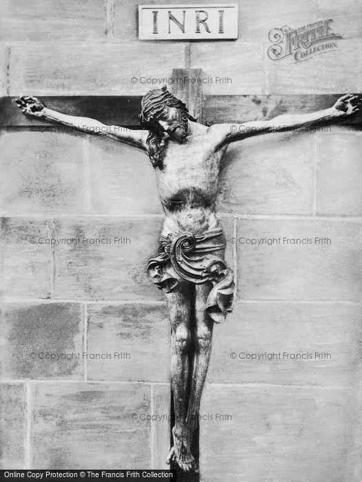 Photo of Nuremburg, The Church Of St Lawrence, The Crucifix c.1930