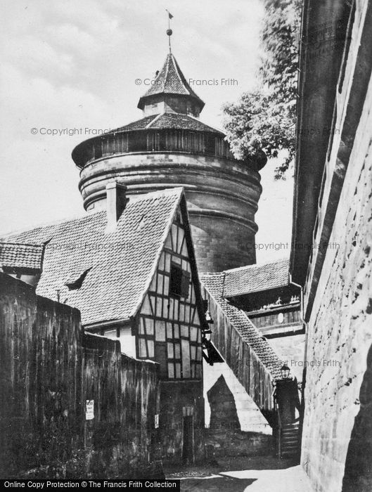 Photo of Nuremburg, Tower In City Wall c.1930