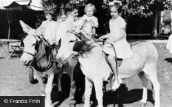 Nutbourne, Donkey Rides, Lazalea Holiday Garden c.1960