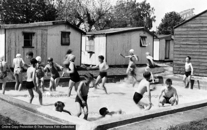 Photo of Nutbourne, The Swimming Pool, Lazalea Holiday Garden c.1960