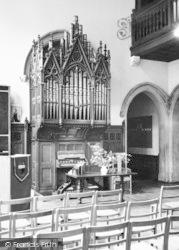 Nutfield, Nutfield Priory, Organ In The Main Hall c.1955