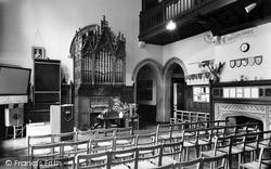 Nutfield, Nutfield Priory, The Main Hall c.1955