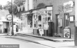 Nutfield, Post Office Stores c.1965