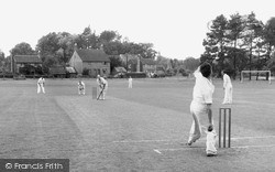 Nutley, Cricket On The Green c.1955