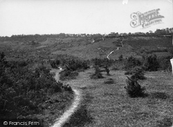 Nutley, From Ashdown Forest 1928