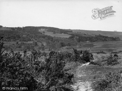 Nutley, Old Lodge From Ashdown Forest 1928