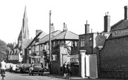 Oadby, Leicester Road c1955