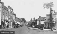 Oadby, London Road c1955