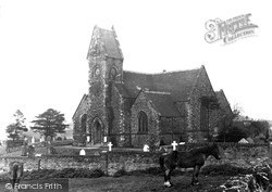 Oakengates, Church Of St Mary And St Leonard, Wombridge c.1955