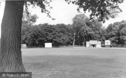 Oakengates, Cricket Ground, St George's c.1955
