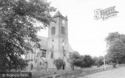 Oakengates, Parish Church, St George's c.1965