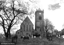 Oakengates, St George's Church c.1955