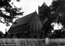 Oakengates, St George's Church c.1960
