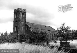 Oakengates, St Peter's Church c.1955