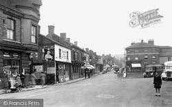 Oakengates, The 'bus Stand And Market Street c.1955