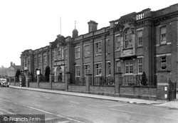 Oakengates, The Technical College c.1955