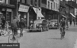 Oakengates, Traffic In Market Street 1949