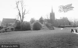 All Saints Church And Castle c.1955, Oakham