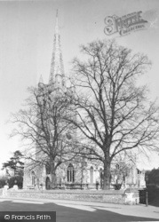 All Saints Church c.1950, Oakham