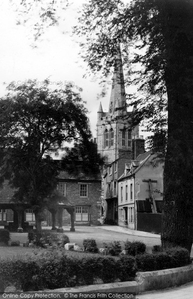 Photo of Oakham, All Saints Church c1950, ref. O2018