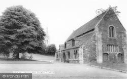 Castle And Church c.1965, Oakham
