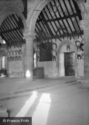Castle Interior c.1950, Oakham