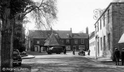 Chapel Close And Buttercross c.1955, Oakham