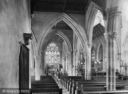 Church Interior 1927, Oakham