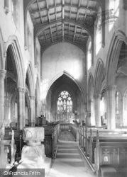Church, The Nave c.1950, Oakham