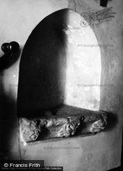 Flore's House, Carving c.1950, Oakham