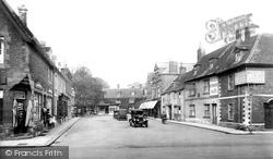 Market Place 1927, Oakham