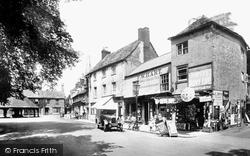 Market Place 1932, Oakham