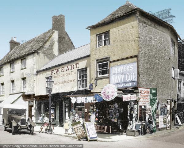 Oakham, Market Place 1932