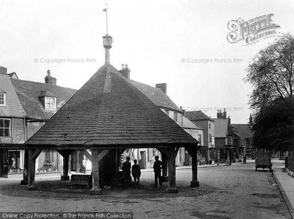 Oakham, Old Buttercross And Stocks 1927