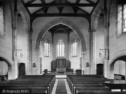 School Memorial Chapel Interior 1927, Oakham