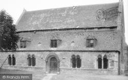The Ancient Court House c.1950, Oakham