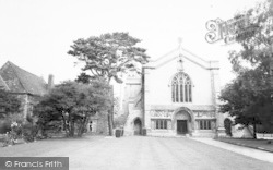 The Chapel And Church c.1960, Oakham