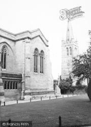 The Chapel And School c.1960, Oakham