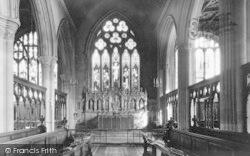 The Church Choir And Altar c.1950, Oakham