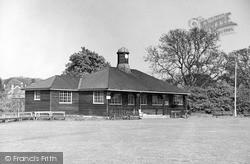 The Cricket Pavilion c.1950, Oakham