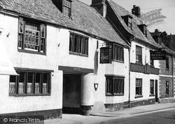 Oakham, The George Hotel c.1950