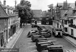 The Market Place c.1950, Oakham