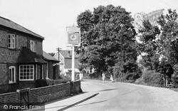 Oakley Lane c.1955, Oakley