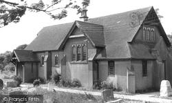 St John's Church c.1955, Oakley