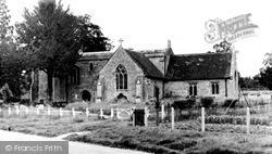 Oakley, St Mary's Parish Church c.1960