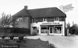 The Post Office c.1955, Oakley