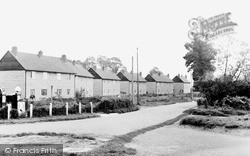 Oakley, The Village c.1955