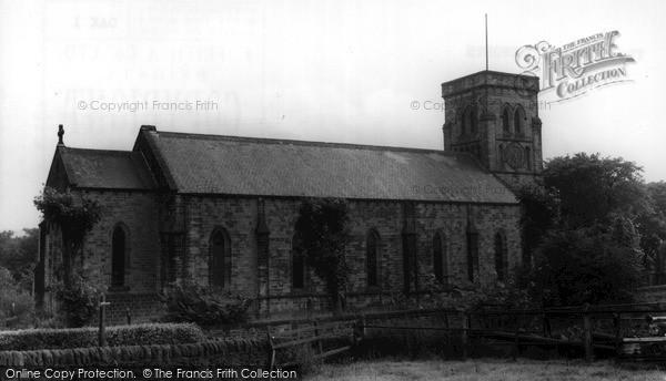 Photo of Oakworth, Christ Church c.1960