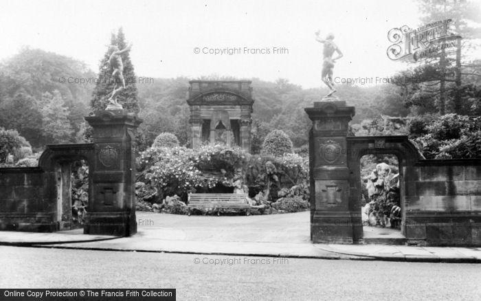 Photo of Oakworth, Entrance To The Park c.1960